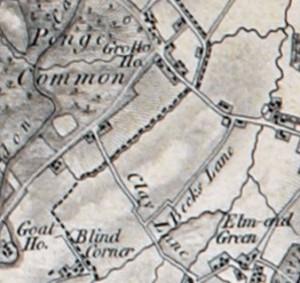 Penge Map