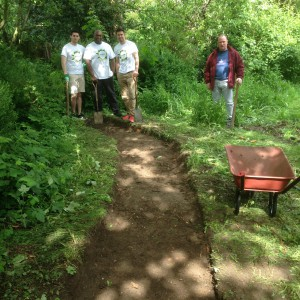 Path dug CEB